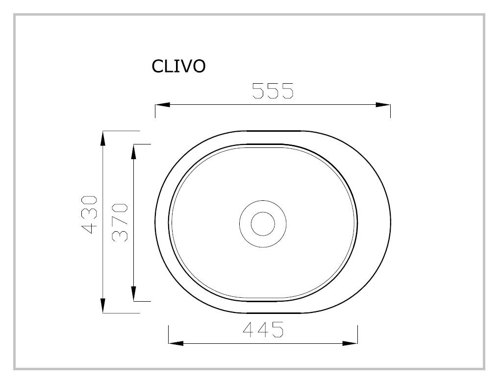 CLIVO rysunek techniczny