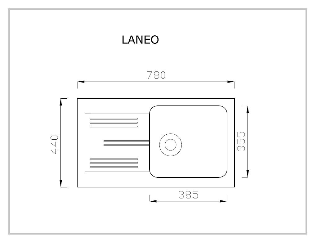 LANEO rysunek techniczny