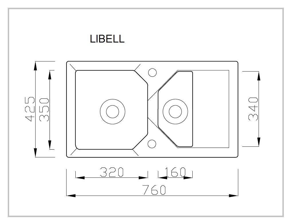 LIBELL rysunek techniczny