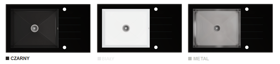 Kolory Czarny OPTI-GLASS
